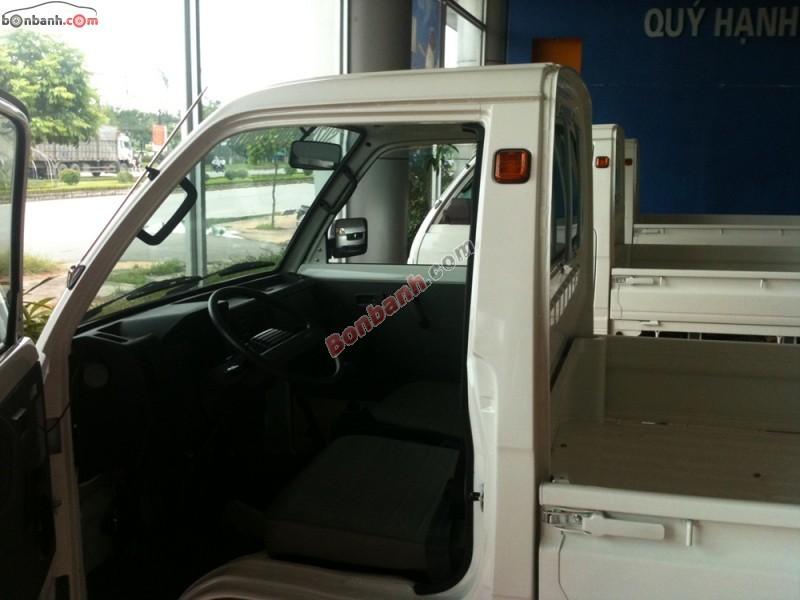 Salon bán Suzuki Super Carry Truck đời 2014, màu trắng, giá rẻ