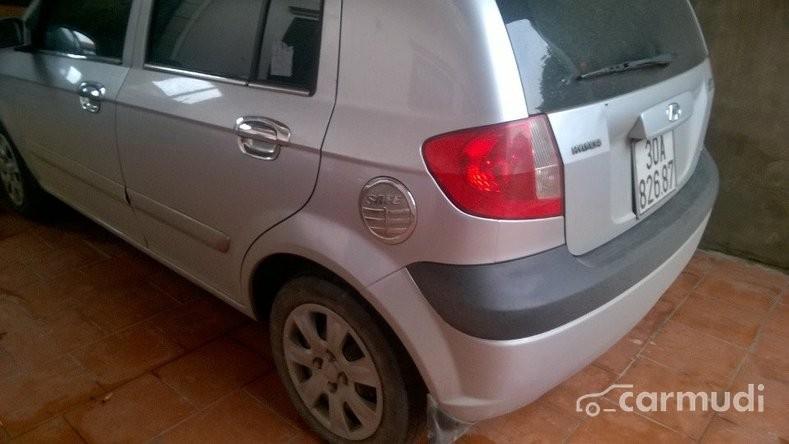 Cần bán xe Hyundai Getz đời 2009, màu bạc chính chủ