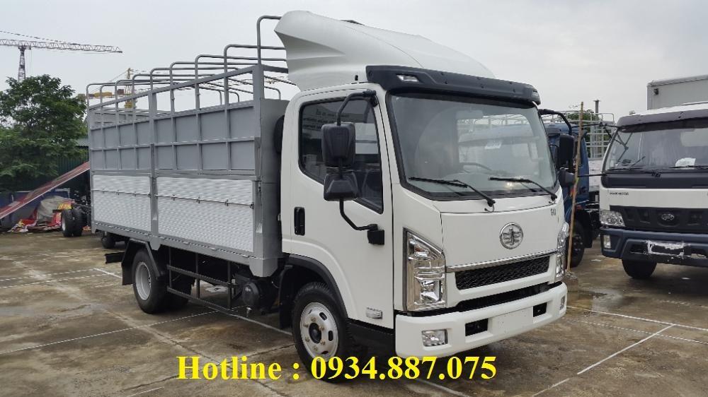 Bán xe tải Faw 6.2 tấn – xe tải Faw thùng dài 4.36 mét giá tốt nhất