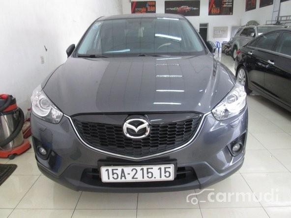 Cần bán gấp Mazda CX 5 AT đời 2012, màu xám