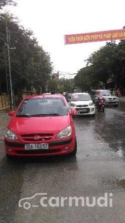 Bán ô tô Hyundai Getz MT đời 2008, màu đỏ đã đi 25000 km, 258 triệu
