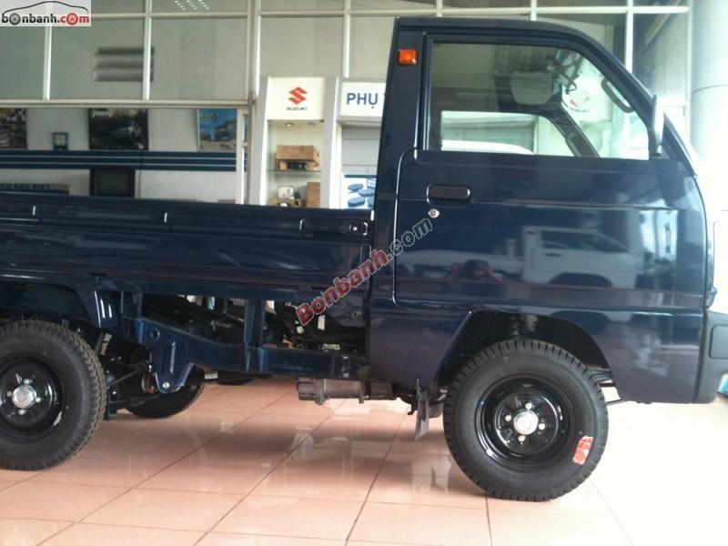 Cần bán Suzuki Super Carry Truck đời 2014, màu xanh