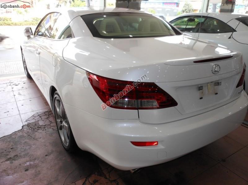 Cần bán xe Lexus IS 250C đời 2011, màu trắng, nhập khẩu