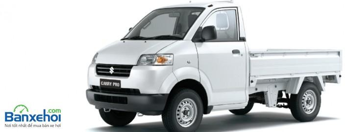 Cần bán xe Suzuki Super Carry Pro đời 2015, màu trắng, nhập khẩu