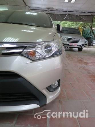 Bán xe Toyota Vios G AT đời 2014, màu bạc đã đi 15000 km, 670 triệu
