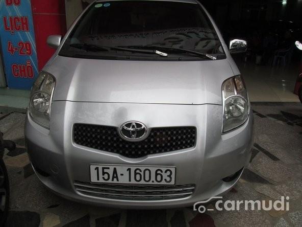 Bán ô tô Toyota Yaris đời 2009, màu bạc, nhập khẩu chính hãng
