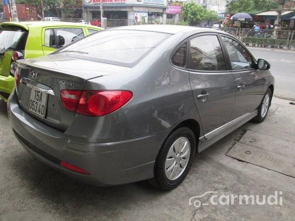 Bán Hyundai Avante đời 2011, màu xám, giá 445tr
