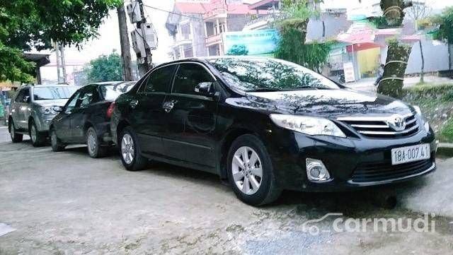 Bán ô tô Toyota Corolla Altis sản xuất 2012, màu đen đã đi 20000 km