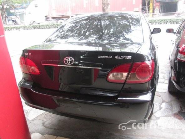 Bán xe Toyota Corolla Altis sản xuất 2007, màu đen
