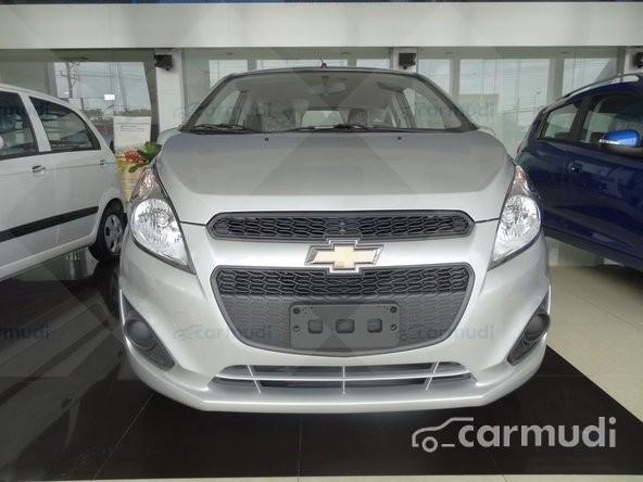 Cần bán xe Chevrolet Spark LS đời 2015, màu bạc, giá chỉ 329 triệu