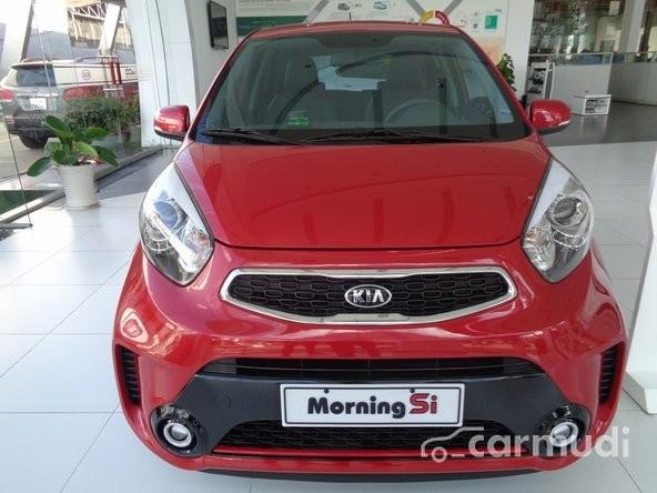 Cần bán Kia Morning SI AT sản xuất 2015, màu đỏ