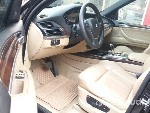 Cần bán lại xe BMW X5 4.8 AT 2008, màu đen, xe nhập đã đi 50000 km