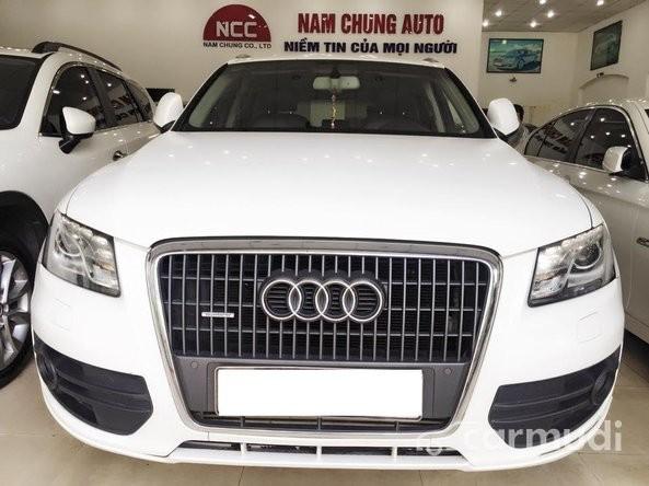 Bán ô tô Audi Q5 đời 2011, màu trắng còn mới