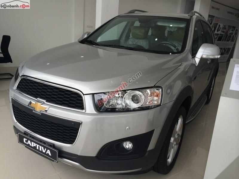 Bán ô tô Chevrolet Captiva LTZ đời 2014, tiết kiệm nhiên liệu, thân thiện với môi trường