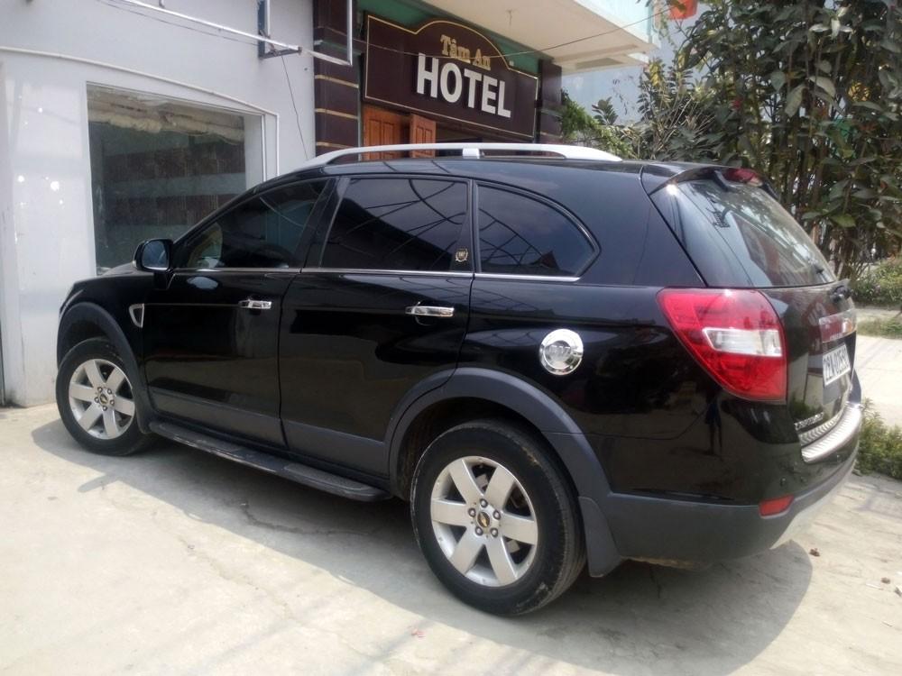 Cần bán xe Chevrolet Captiva sản xuất 2007, màu đen, chính chủ