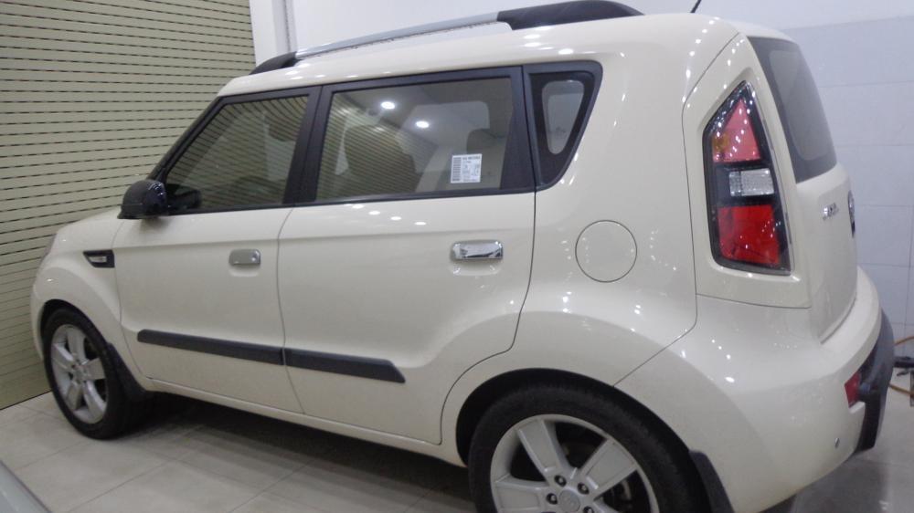 Cần bán lại xe Kia Soul đời 2009, màu kem (be), nhập khẩu chính hãng, xe gia đình