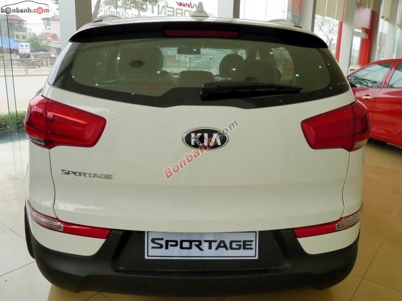 Bán xe Kia Sportage đời 2015, màu trắng, nhập khẩu nguyên chiếc