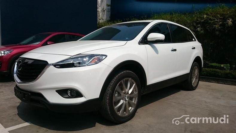 Bán Mazda CX 9 đời 2015, màu trắng, xe nhập