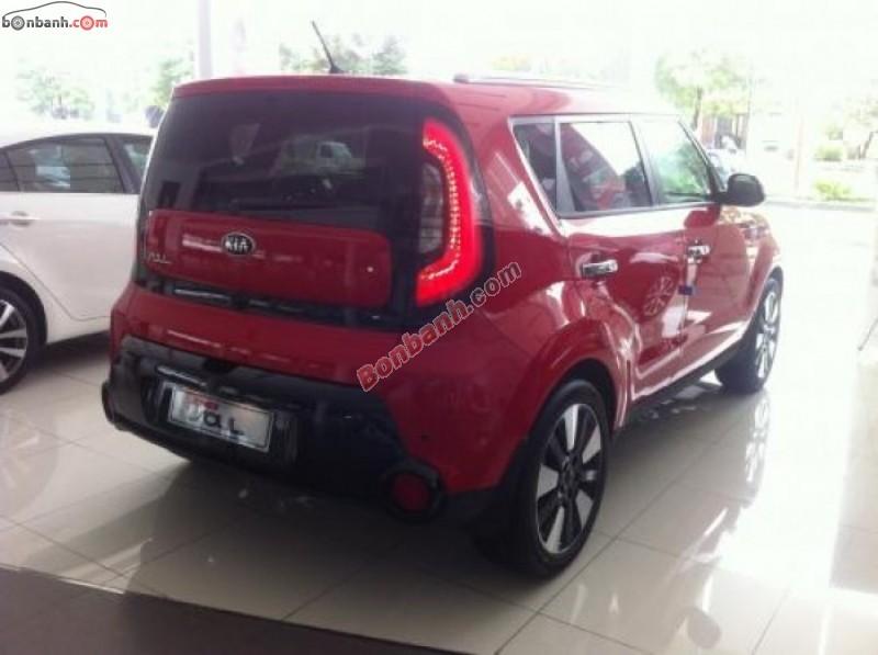 Bán xe Kia Soul đời 2015, màu đỏ, nhập khẩu chính hãng, 788 triệu