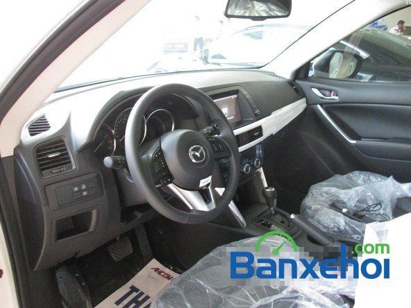 Bán Mazda CX 5 3 WD 2015, màu trắng