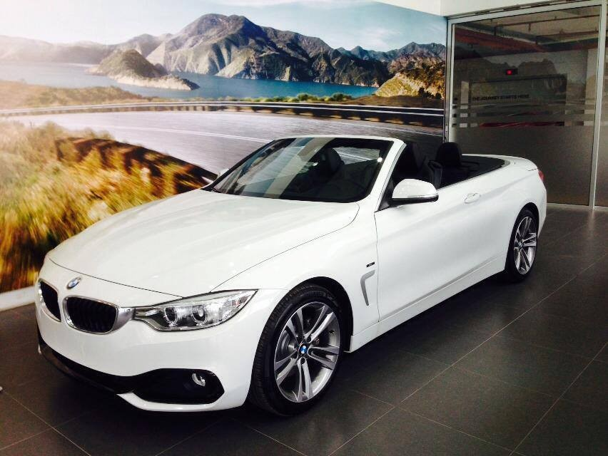 Bán ô tô BMW 4 Series 420i năm 2016, màu trắng, nhập khẩu nguyên chiếc