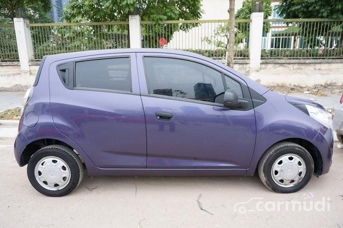 Cần bán Chevrolet Spark AT đời 2011, màu tím