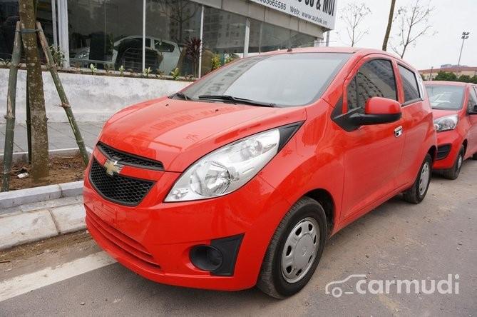 Cần bán lại xe Chevrolet Spark AT đời 2011, màu đỏ, 228 triệu