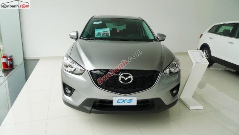 Bán xe Mazda CX 5 2.0 đời 2015, màu bạc. Xe lắp ráp trong nước