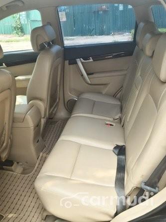 Cần bán xe Chevrolet Captiva 2.4 MT đời 2008, màu đen, 345 triệu