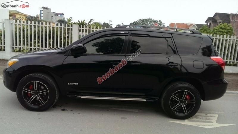 Cần bán xe Toyota RAV4 Limited đời 2008, màu đen, nhập khẩu nguyên chiếc, như mới, giá chỉ 780 triệu
