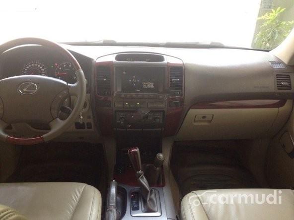 Cần bán xe Lexus GX 470 AT đời 2008, màu đen, nhập khẩu chính hãng đã đi 60000 km