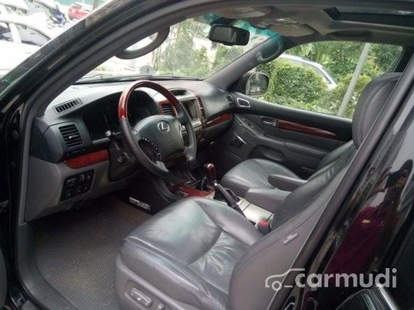 Bán Lexus GX 470 AT sản xuất 2008, màu đen, nhập khẩu nguyên chiếc đã đi 60000 km