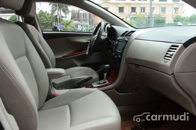 Ô tô Đức Thiện bán xe Toyota Corolla Altis 1.8AT SX 2010, màu đen, đăng ký tư nhân chính chủ từ đầu