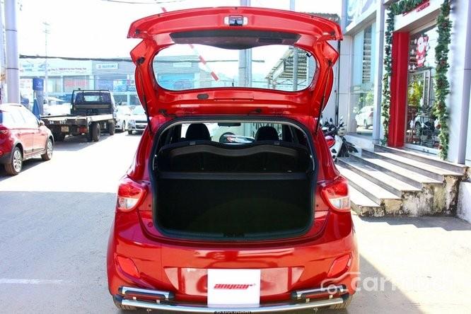 Xe Hyundai i10 1.2 2015 cũ màu đỏ đang được bán