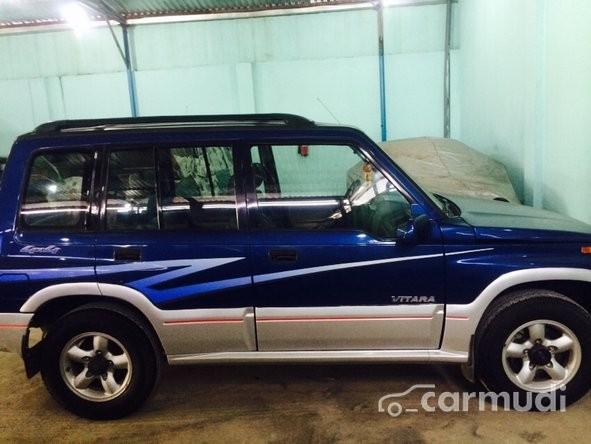 Cần bán gấp Suzuki Vitara đời 2004, màu xanh lam chính chủ