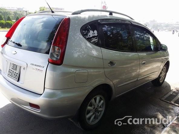 Cần bán gấp xe Chevrolet Vivant đời 2008, màu ghi bạc số tự động