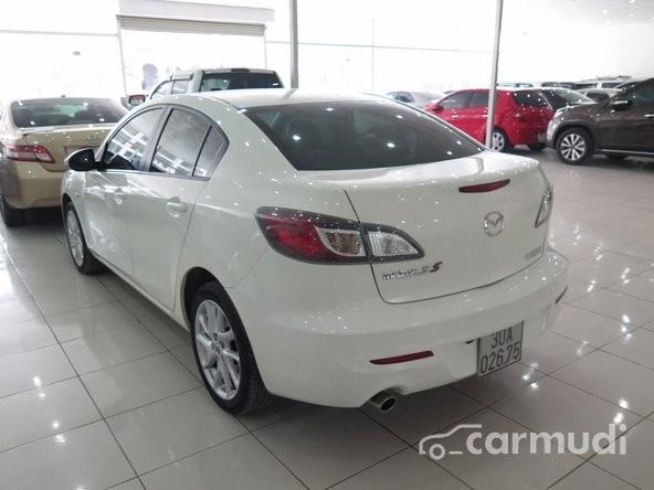 Cần bán Mazda 3 S AT đời 2013, màu trắng