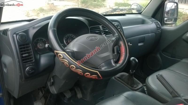 Xe Kia Bongo đời 2004, màu xanh lam, nhập khẩu chính hãng