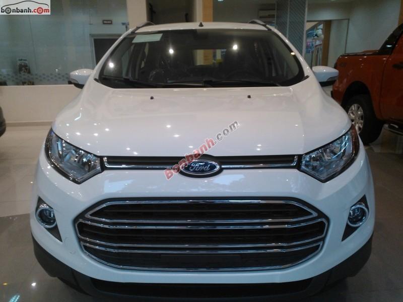Bán Ford EcoSport Trend 1.5AT đời 2014, màu trắng
