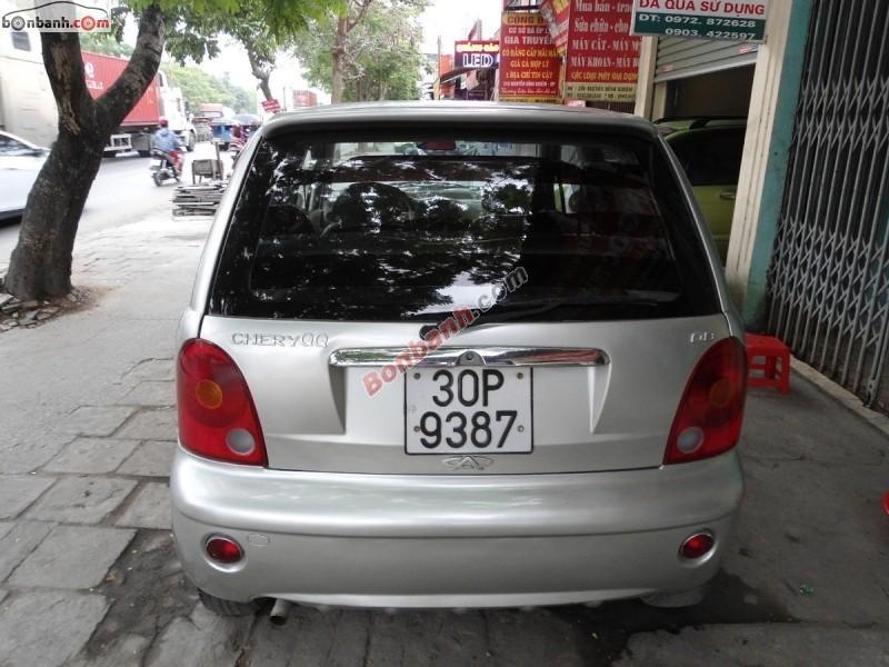 Xe Chery QQ3 đời 2009, màu bạc, 93 triệu