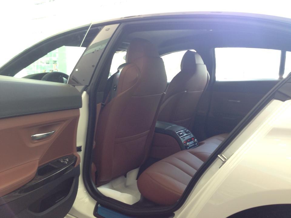 Cần bán xe BMW 640i Gran Coupe đời 2015, màu trắng, nhập khẩu nguyên chiếc