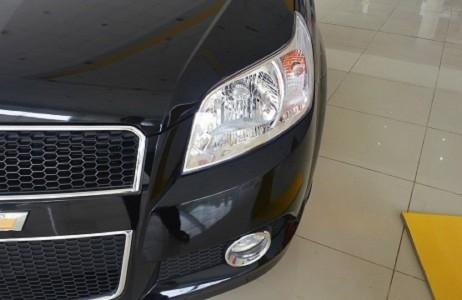 Bán xe Chevrolet Aveo LT đời 2016, màu đen