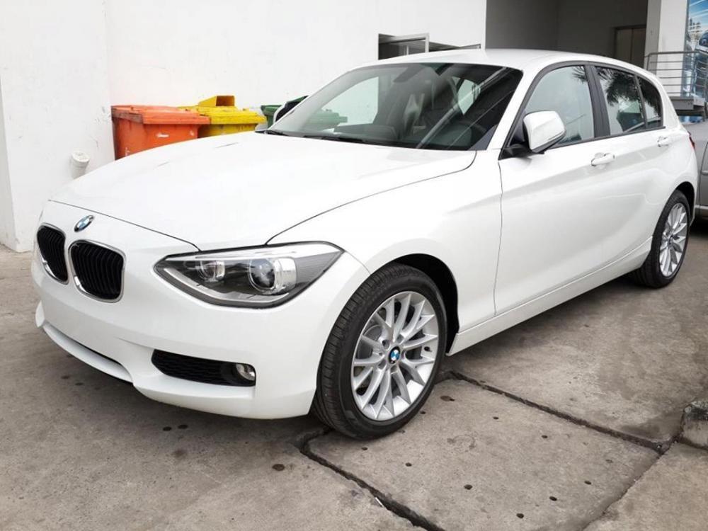 Cần bán xe BMW 1 Series 116i đời 2015, màu trắng, nhập khẩu nguyên chiếc