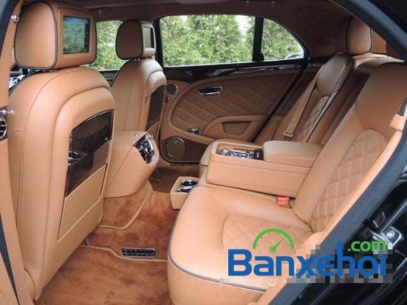 Cần bán xe Bentley Mulsanne Mulliner đời 2014, màu đen, nhập khẩu chính hãng