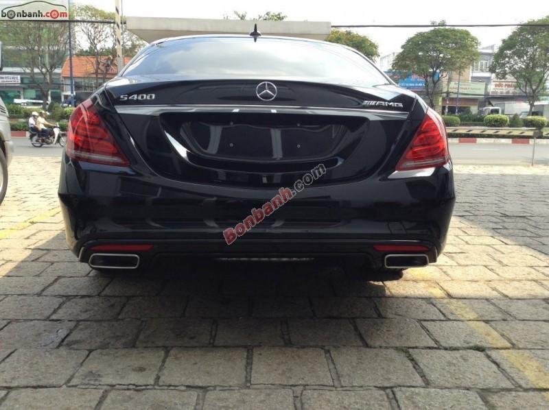Cần bán Mercedes S400L AMG năm 2015, màu đen
