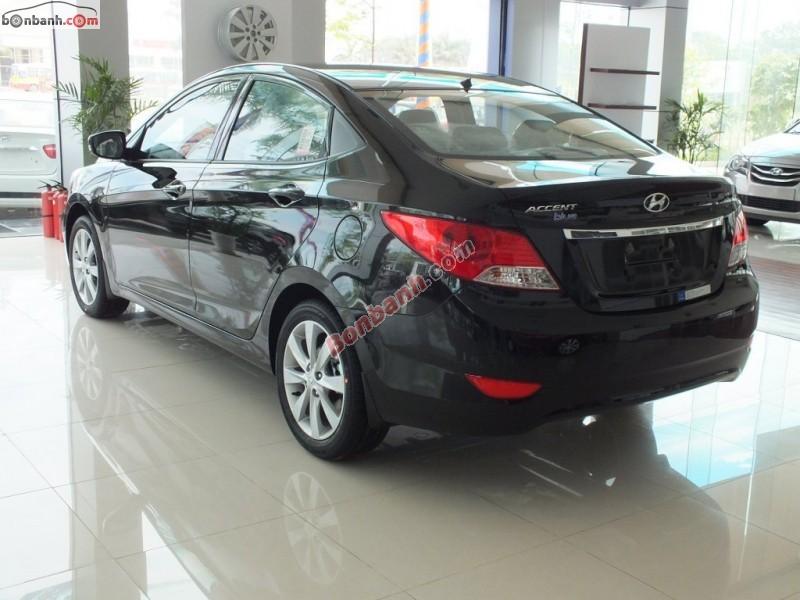 Bán Hyundai Accent Blue đời 2015, màu đen, nhập khẩu chính hãng, giá chỉ 600 triệu