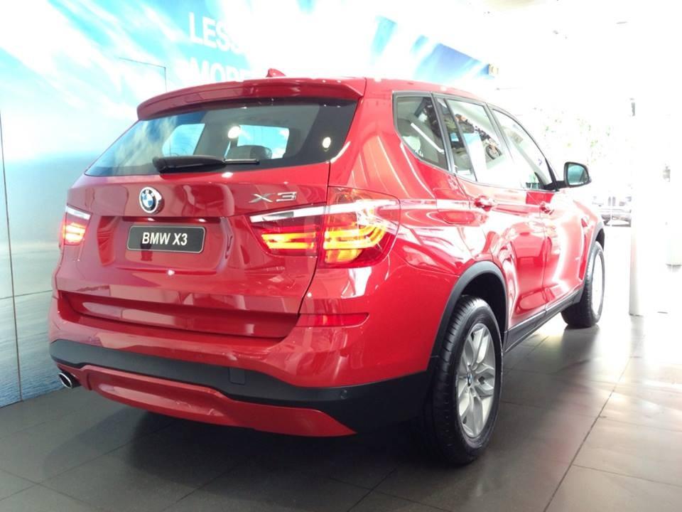 Cần bán BMW X3 xDrive20i LCi đời 2016, màu đỏ, nhập khẩu