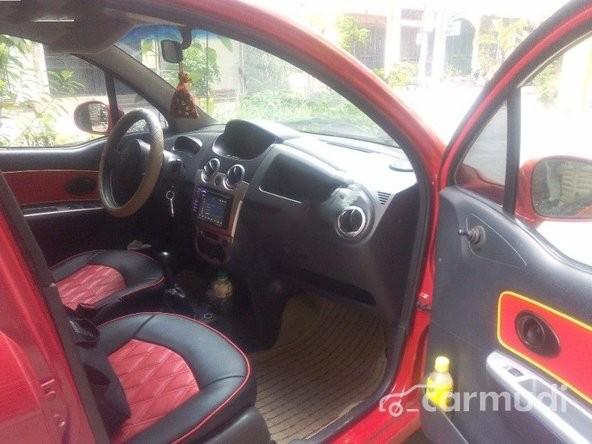 Bán ô tô Chevrolet Spark Van đời 2011, màu đỏ đã đi 55000 km