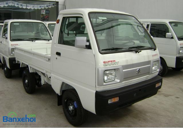 Bán xe Suzuki Super Carry Truck đời 2015, màu trắng, 219 triệu