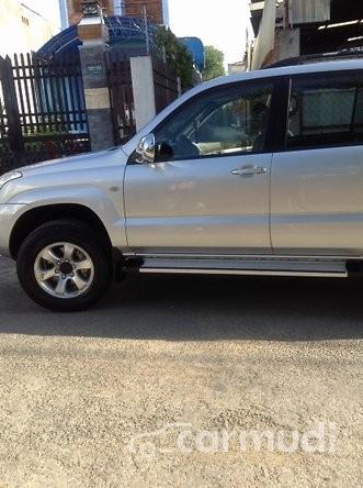 Cần bán lại xe Toyota Land Cruiser Prado sản xuất 2007, màu bạc số tự động